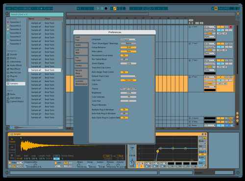 Other Lands 2 Theme for Ableton 10 by Lelue Maxime