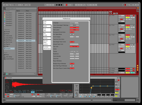 DRAGON Theme for Ableton 10 by Sai