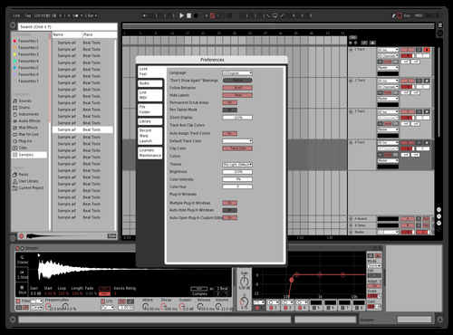 Contrast test Theme for Ableton 10 by Morgan Clarkson