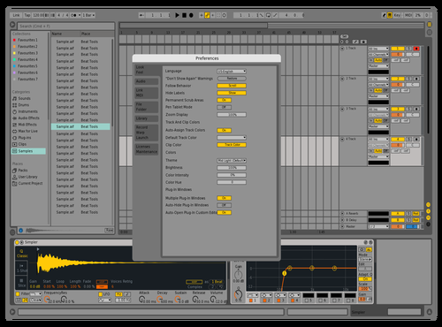 9 live and Theme for Ableton 10 by AndrewNerwen