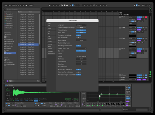 VS Dark Green Theme for Ableton 10 by Hypnox77