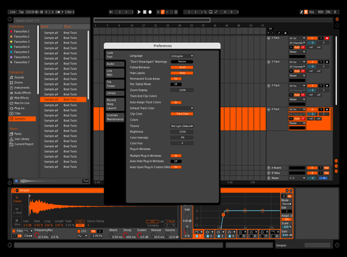 Yess Theme for Ableton 10 by Thibaut Beltran
