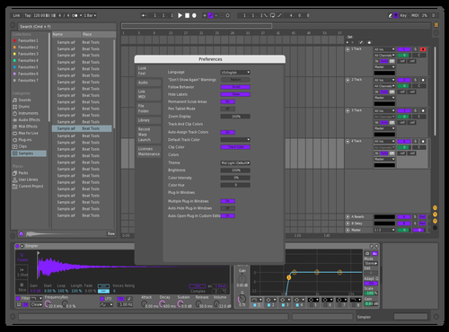 Dope Theme for Ableton 10 by Konstantin