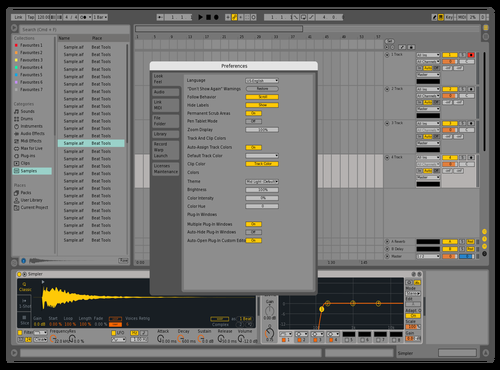 Test 1 Theme for Ableton 10 by CryoniK