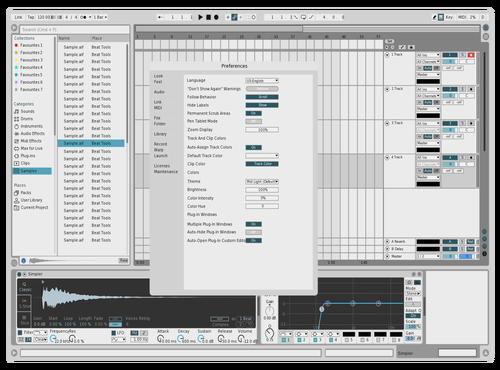 LIGHTMARINE Theme for Ableton 10 by david
