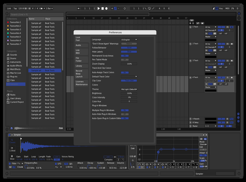 Twitch but blue Theme for Ableton 10 by Lop_the_Flop