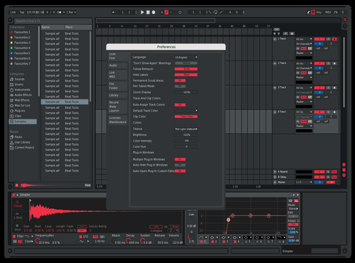 MixL Theme Theme for Ableton 10 by woterr