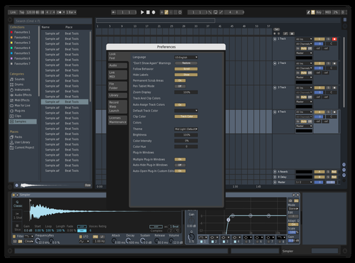 DarkTech Theme for Ableton 10 by symbio