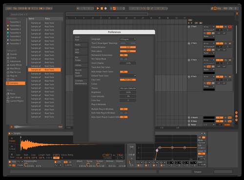 Orange 21 Theme for Ableton 10 by ronimitanni
