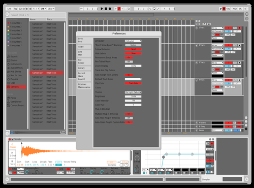In2AUX RedGrey v1 Theme for Ableton 10 by In2AUX