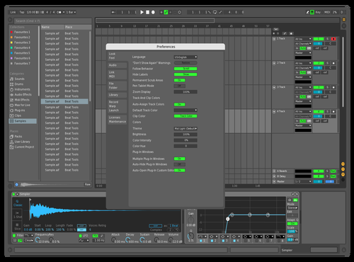 Beropt Theme for Ableton 10 by Beropt