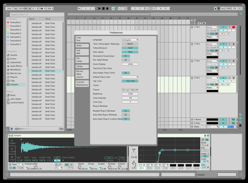 Light 2 Theme for Ableton 10 by Ciel