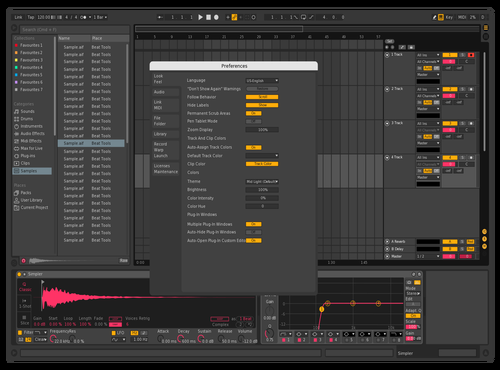 Dark alt Theme for Ableton 10 by Matsq