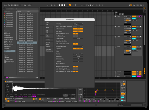 Theo Levendal Theme for Ableton 10 by Theo