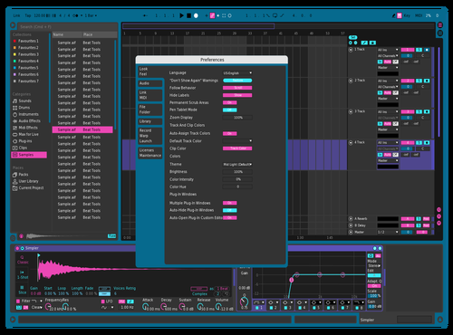 Outrun 2 - More contrast Theme for Ableton 10 by evod