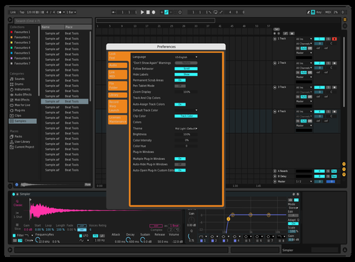 Ferlite Theme for Ableton 10 by Linus Schoeller