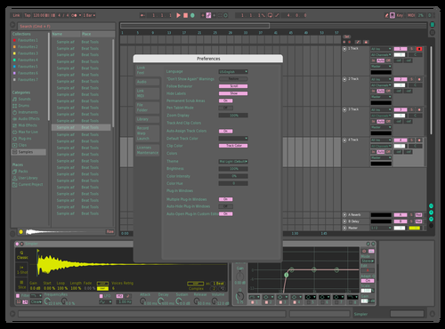 Off-Colour Theme for Ableton 10 by Einari Mäkiranta