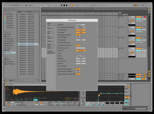 Natural Theme for Ableton 10 by kristo
