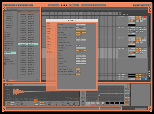 MyTheme Theme for Ableton 10 by Zachary Zinck
