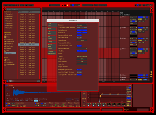 Ya Theme for Ableton 10 by hluhoi_prod