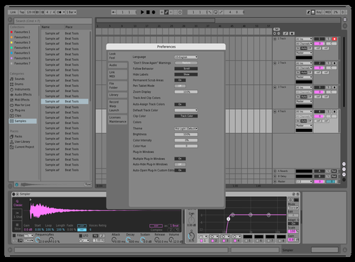 SPURS Theme for Ableton 10 by Milan R. Darden