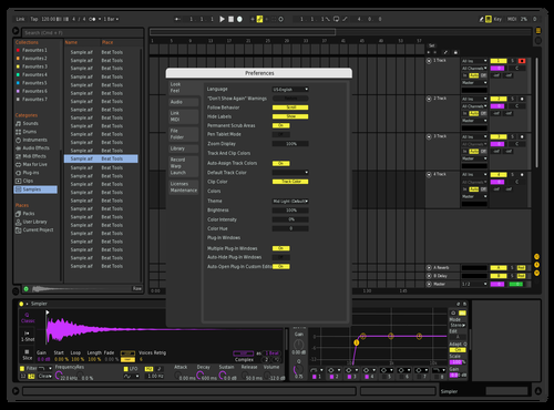 Easter Theme for Ableton 10 by val