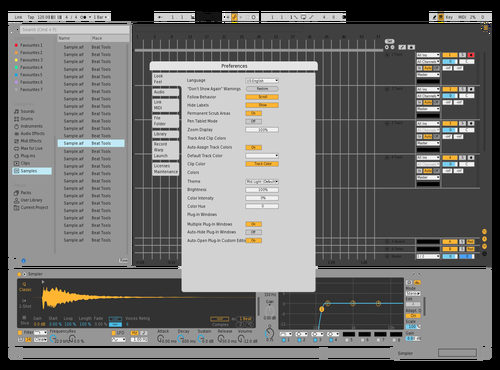 Gjjh,cnc Theme for Ableton 10 by ireculocram