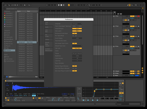 Dark 2.0 Theme for Ableton 10 by Edward Beats