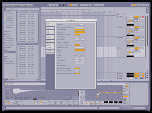 Pastel Mod Theme for Ableton 10 by Austin