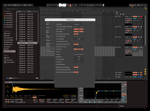CLean Creme Theme for Ableton 10 by martbeatz