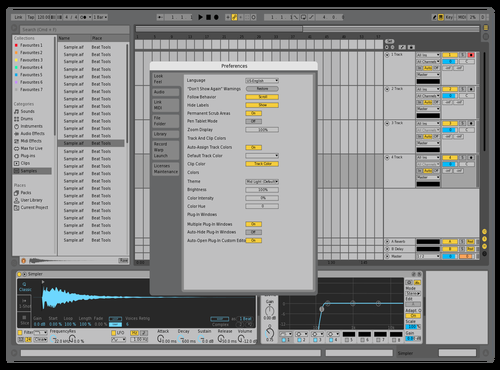 Ultra Basic Theme for Ableton 10 by billylubach