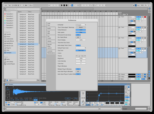 Try second Theme for Ableton 10 by Srecko