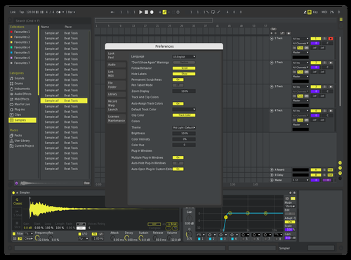 Superyellow Theme for Ableton 10 by davide