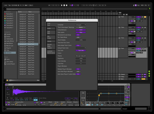 Test M Theme for Ableton 10 by MILAD