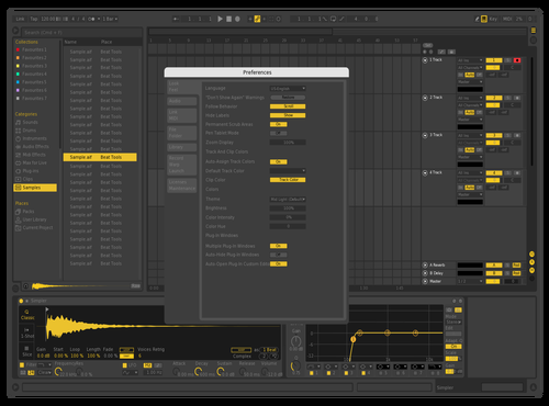 Yello2 Theme for Ableton 10 by teriyxkii