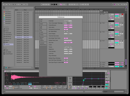 RIIIP Theme for Ableton 10 by Riiip