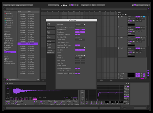 Sellax Theame Theme for Ableton 10 by Sellax
