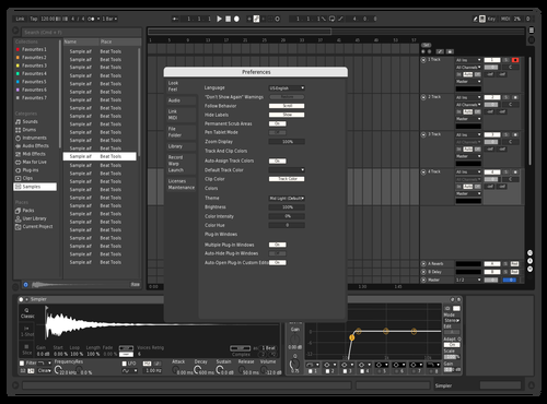 Black & White Theme for Ableton 10 by Ty