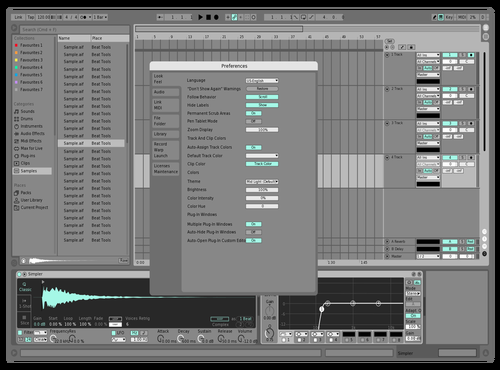 Tru MiNT Theme for Ableton 10 by neo blayd