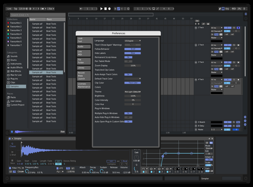DISCORD Mid Dark Theme for Ableton 10 by Vapur
