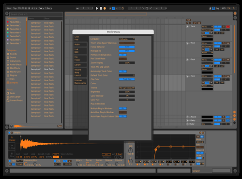 OrangleTangle Theme for Ableton 10 by Brother Xah