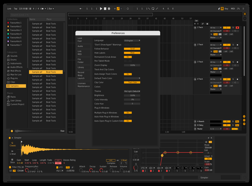New Yellow - remastered 2 Theme for Ableton 10 by ARtiee