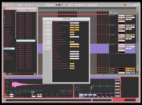 Retro Theme for Ableton 10 by Ardian