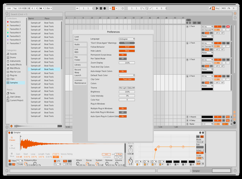 SOL Theme for Ableton 10