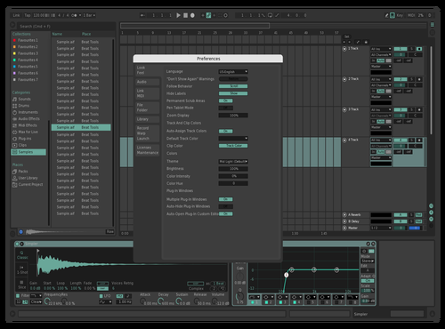 NICER Theme for Ableton 10 by sevi