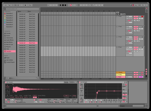 Mid Light Pink 2 Theme for Ableton 10 by Kevin Lovelace