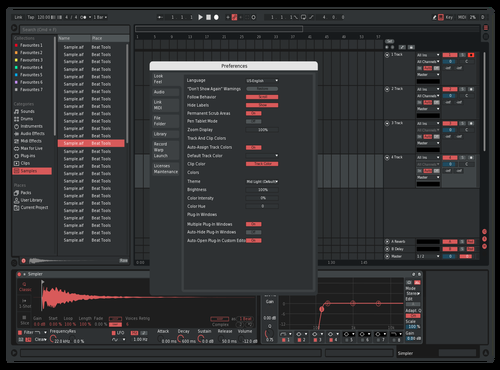 SonicNewPink Theme for Ableton 10 by werteve