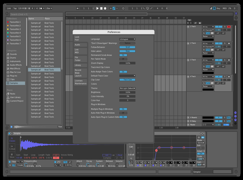 Dark Contrast Theme for Ableton 10 by Ari