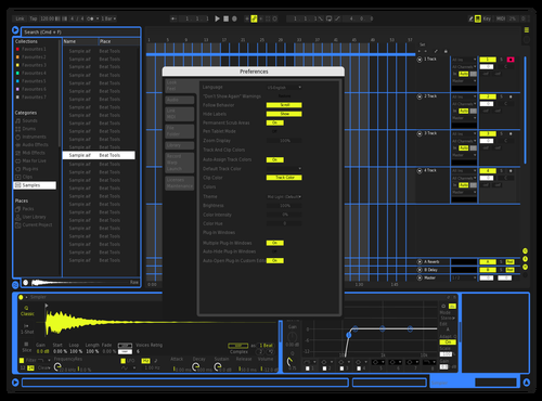 Gold Theme for Ableton 10 by CTP