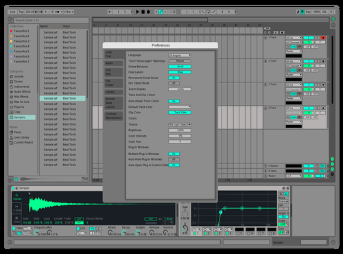 Mintyfresh Theme for Ableton 10 by ty